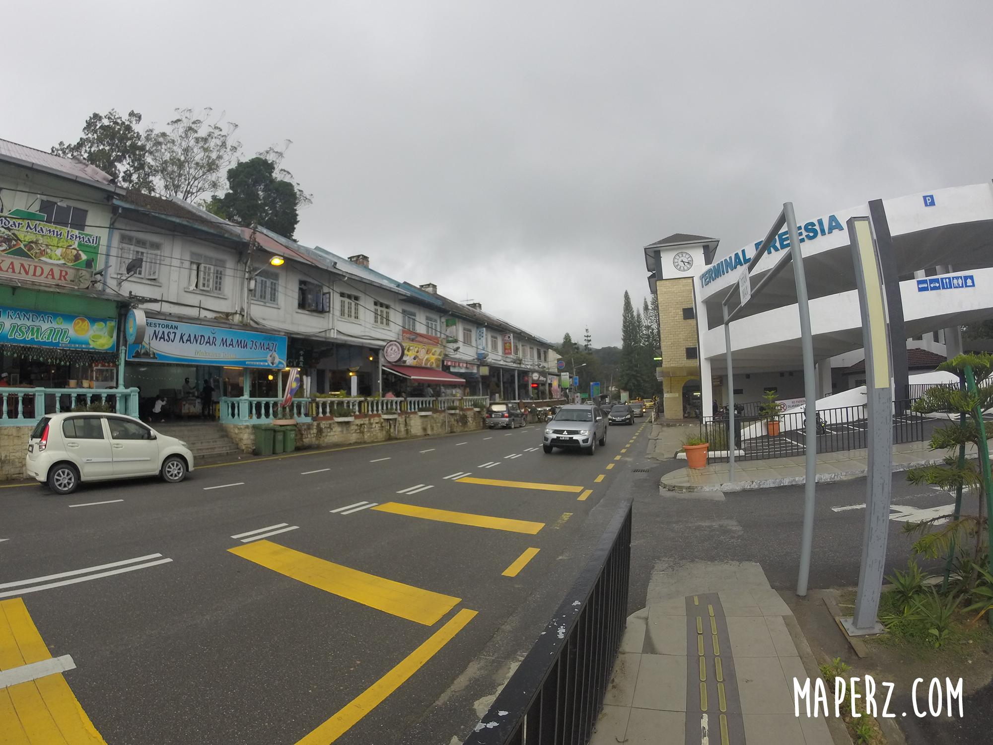 Calle principal - Cameron Highlands
