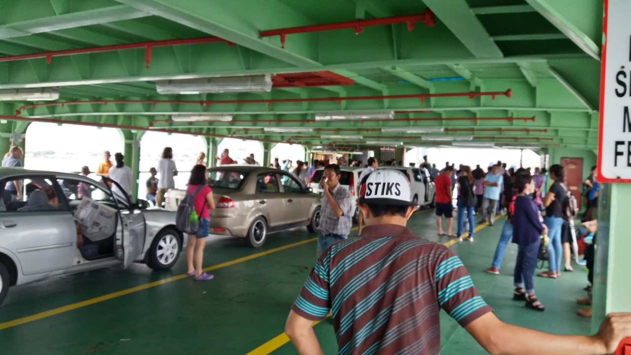 Ferry hacia George Town Penang