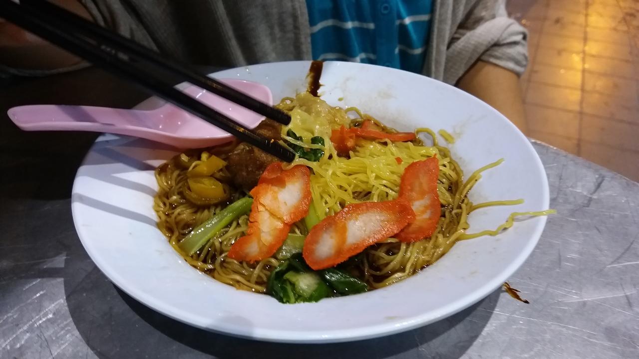 El mejor Wonton Mee en Penang