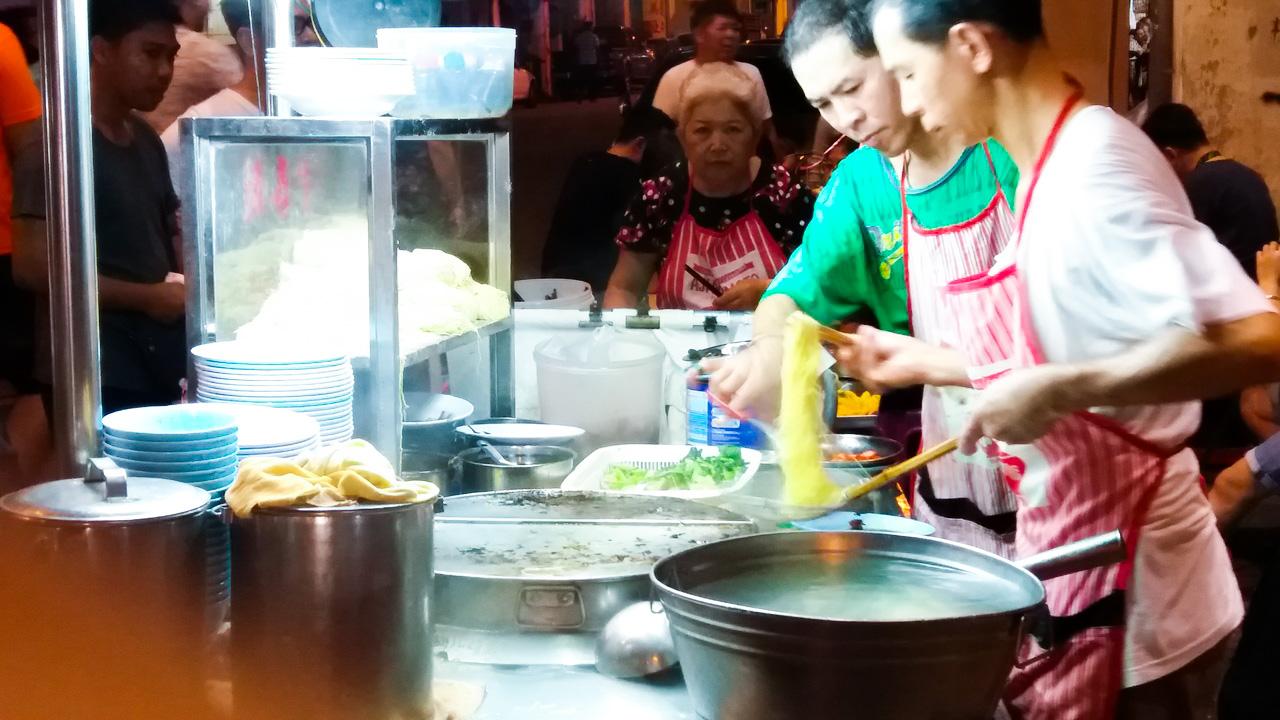 Mejor carrito de comida Lebuh Chulia