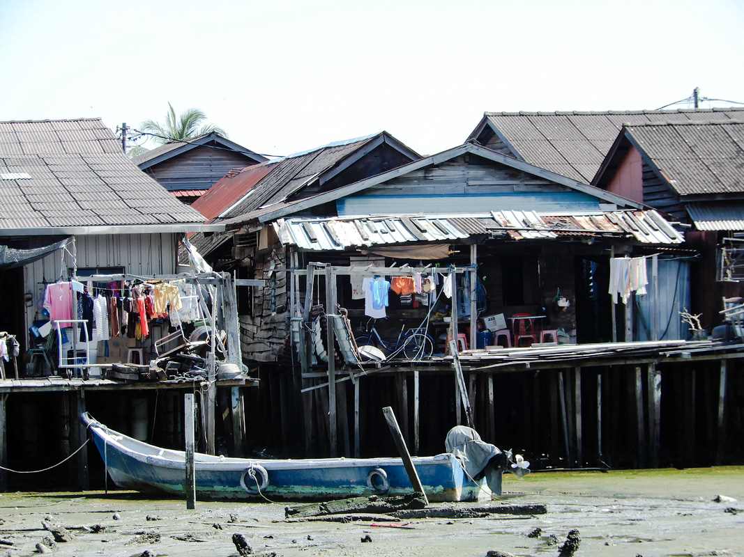 Palafitos desde el Muelle Penang