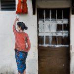 Murales en Georgetown Penang