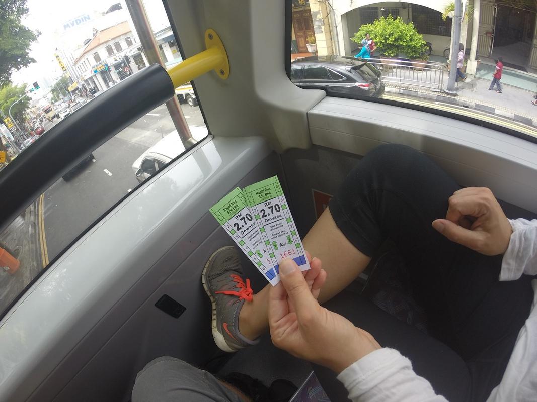 Bus al Parque Nacional de Penang