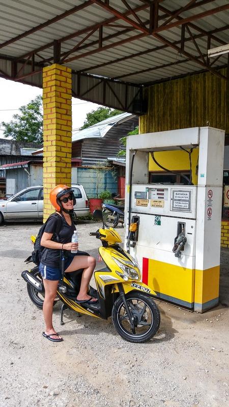 Paseando en Moto por Langkawi