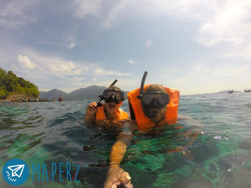 Snorkelling en Koh Lipe