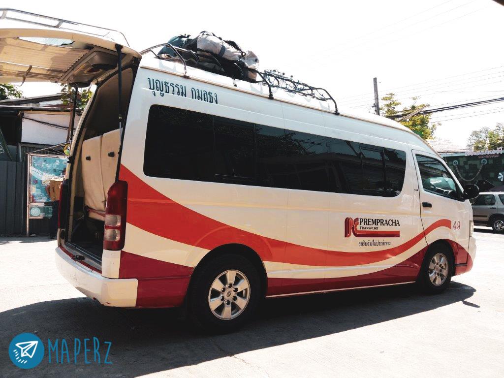 Van de Chiang Mai hasta Pai