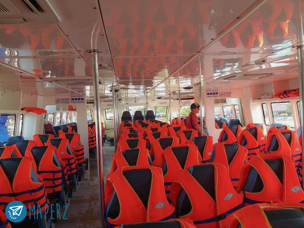 Ferry lento desde Langkawi a Koh Lipe