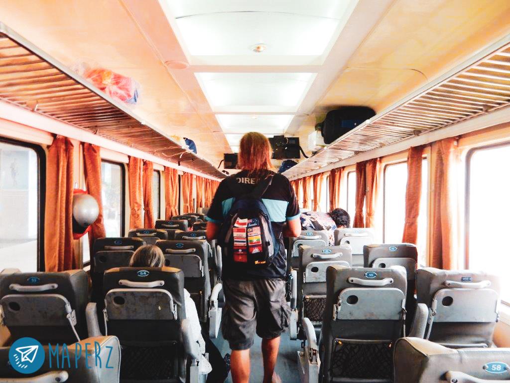 Tren hasta Tam Coc