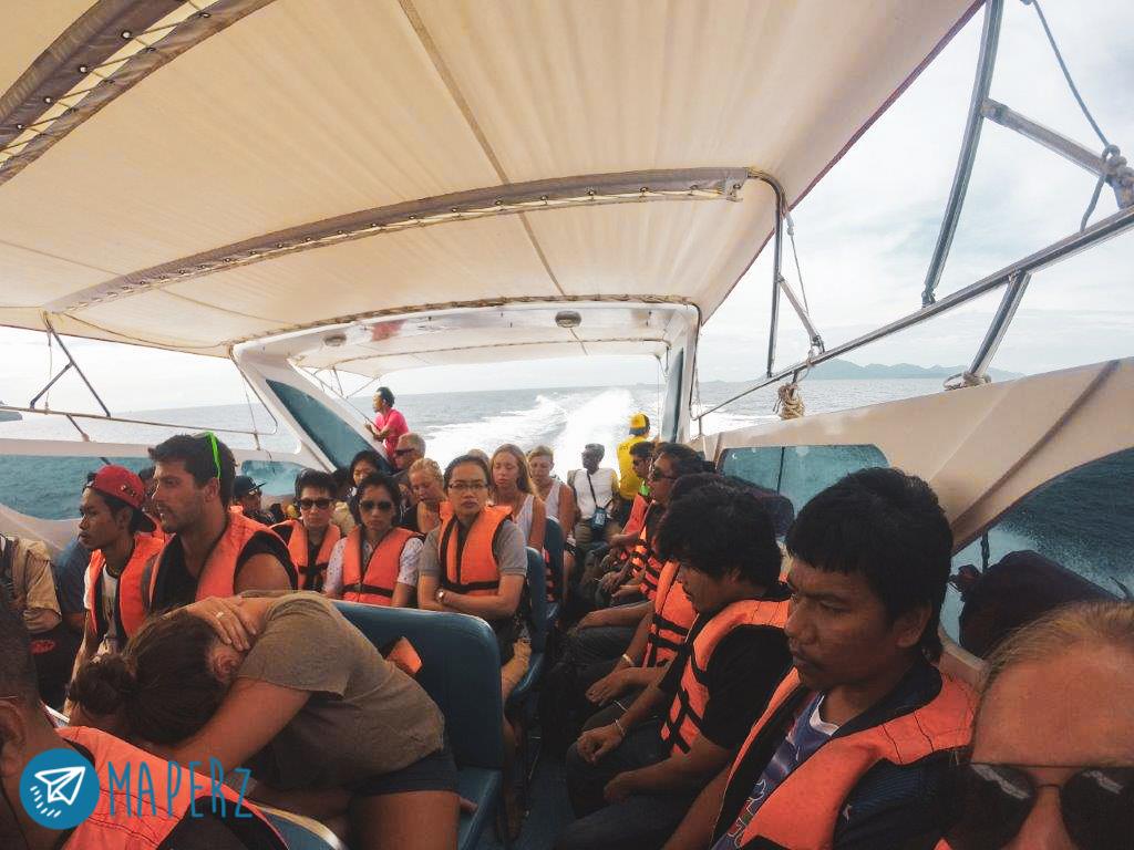 speed boat desde Koh Lipe hasta pakbara